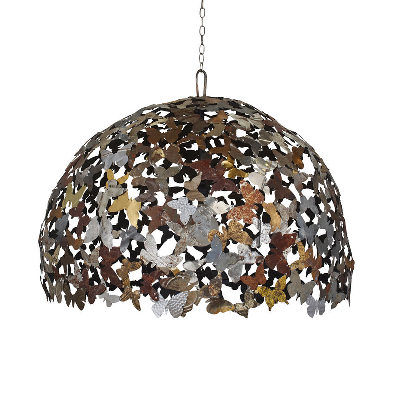 main image for Industrial Metal Butterflies Chandelier