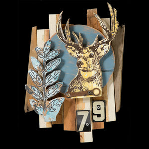 thumbnail for Trophy Deer Faux Taxidermy Rescued Wood Construction