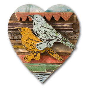 thumbnail for Lovebird Bold Rescued Wood Construction