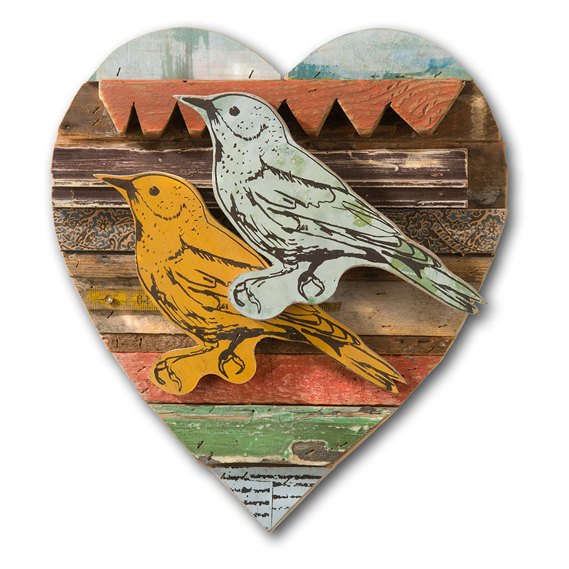 main image for Lovebird Bold Rescued Wood Construction