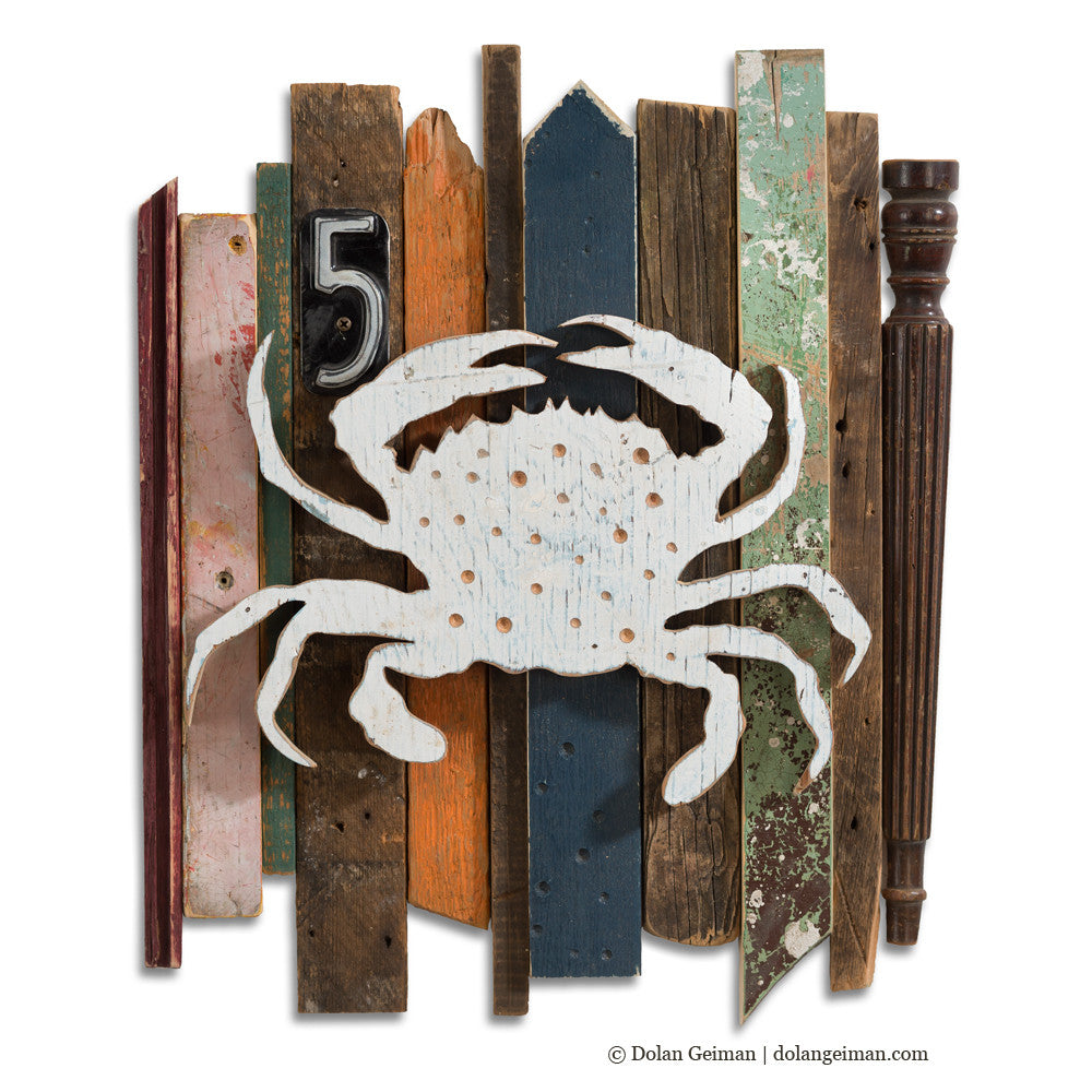 Baltimore Crab Coastal Rescued Wood Construction