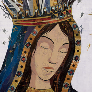 thumbnail for Celestial Queen - Lady of Guadalupe II Original Paper Collage