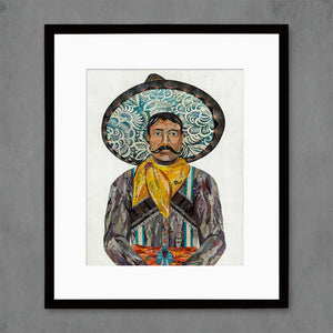 thumbnail for Charro Cowboy Art Print