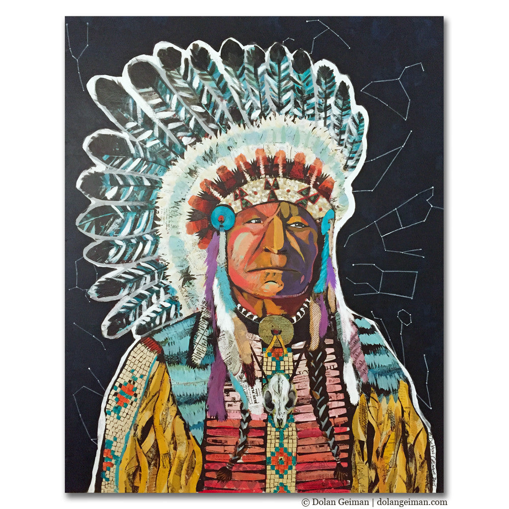 American Heritage Chief Painting