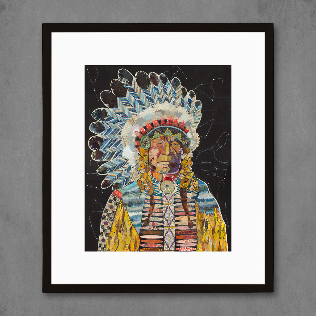 American Heritage Chief Constellation Art Print