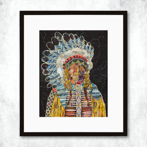 thumbnail for WHSL - Chief (Constellation) Art Print