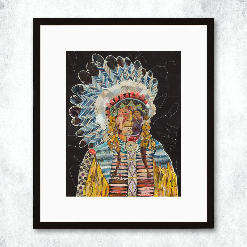 main image for WHSL - Chief (Constellation) Art Print