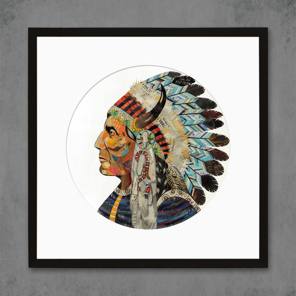 Wisdom and Courage Chief Limited Edition Print