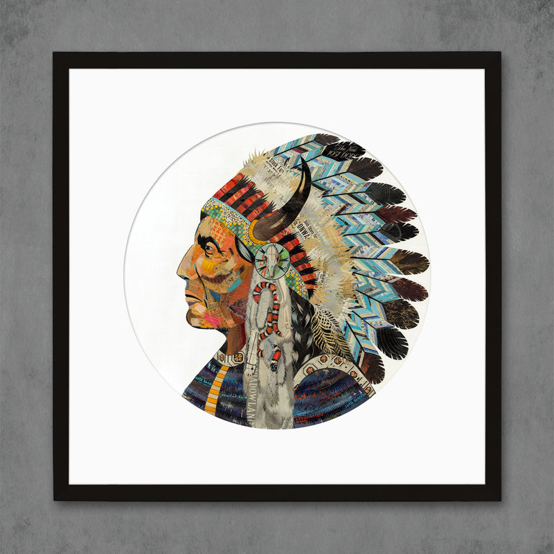 main image for Wisdom and Courage Chief Limited Edition Native American Art Print