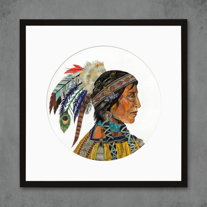 main image for Wisdom and Courage Chieftess Limited Edition Native American Art Print
