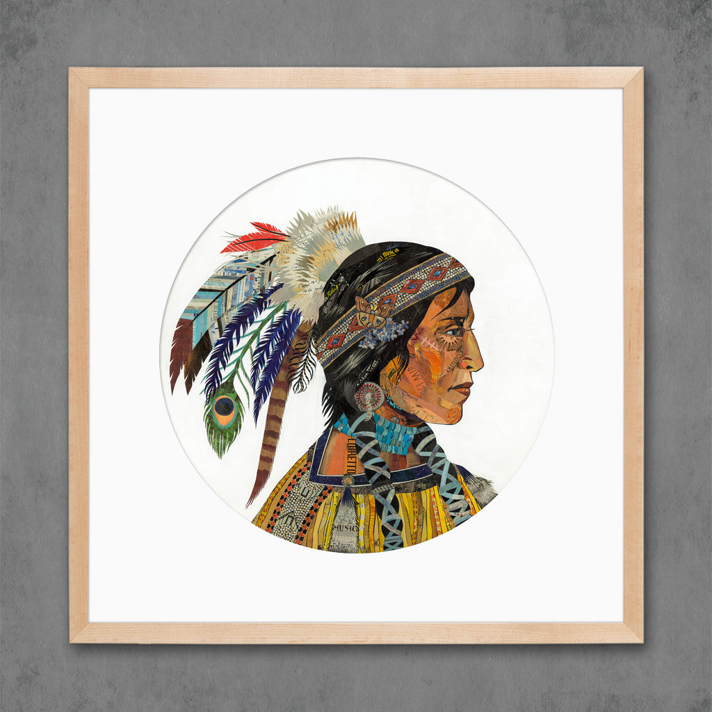 Wisdom and Courage Chieftess Limited Edition Print