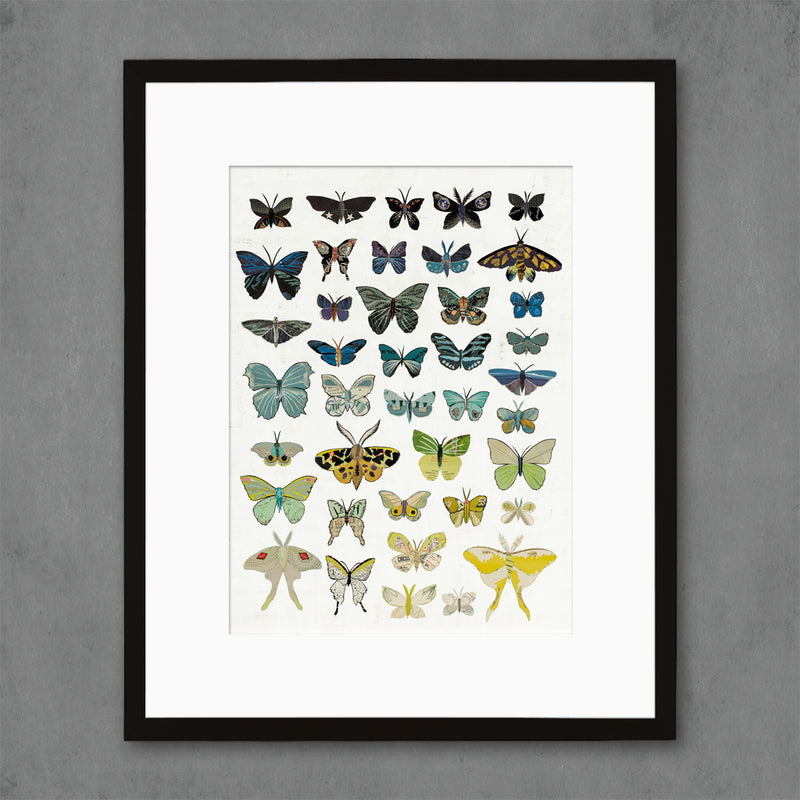 main image for Dusk Butterflies Art Print