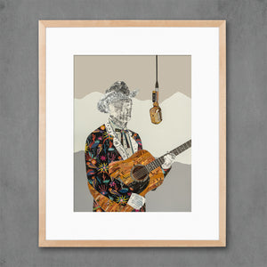thumbnail for Country Music Done Changed Cowboy Art Print