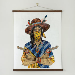 thumbnail for WHSL - Cowgirl (Bandana) Art Print