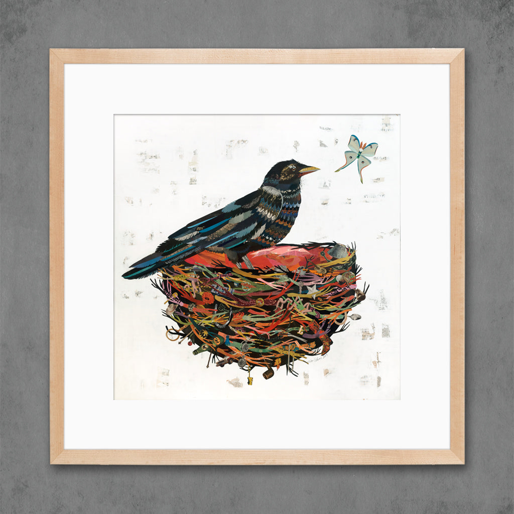 Crow Moon Art Print