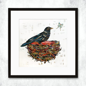 thumbnail for WHSL - Crow Moon Art Print
