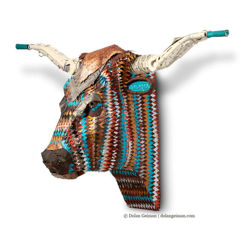 main image for Custom Longhorn Sculpture for Colorado Home