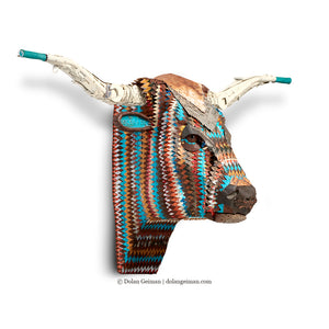 thumbnail for Custom Longhorn Sculpture for Colorado Home