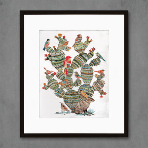 thumbnail for Desert Morning Southwest Botanical Art Print