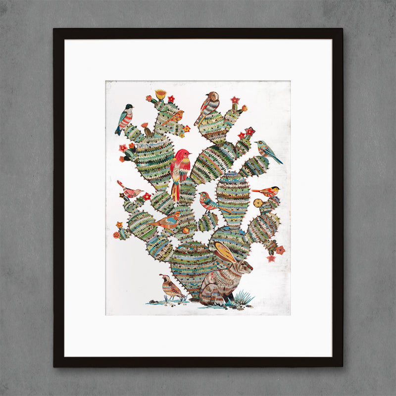 main image for Desert Morning Southwest Botanical Art Print