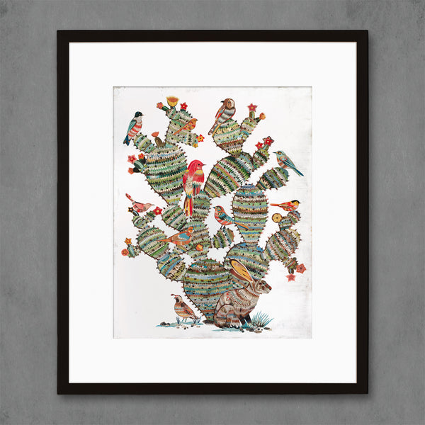 Desert Morning Southwest Botanical Print