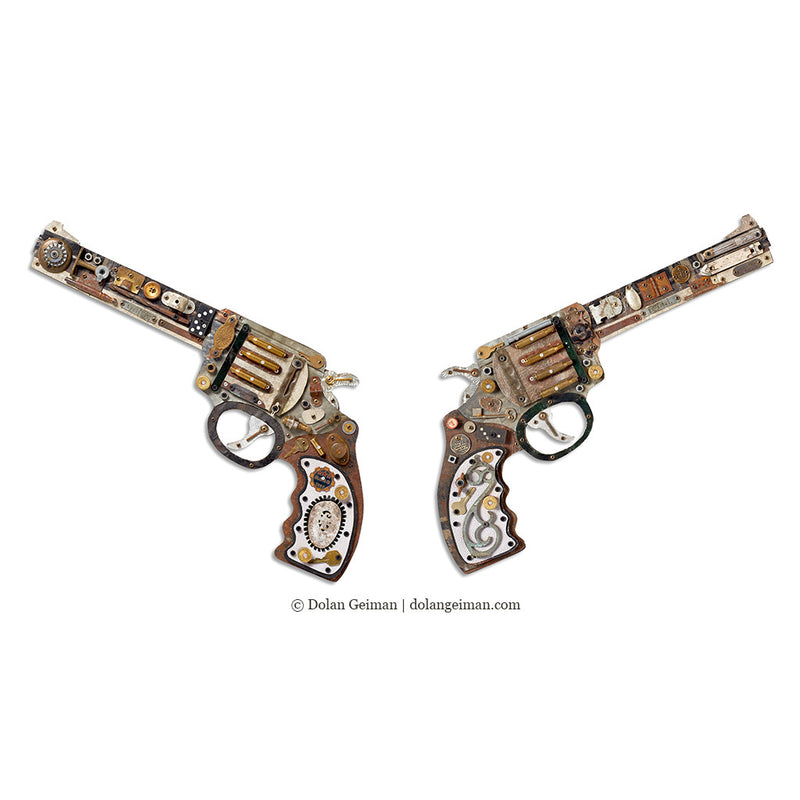 main image for Industrial Wild West Mixed Media Revolver Set