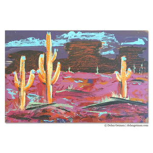 thumbnail for Landscape Studies: Electric Desert