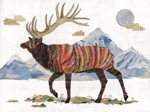 thumbnail for WHSL - Elk, King of the Continental Divide Art Print