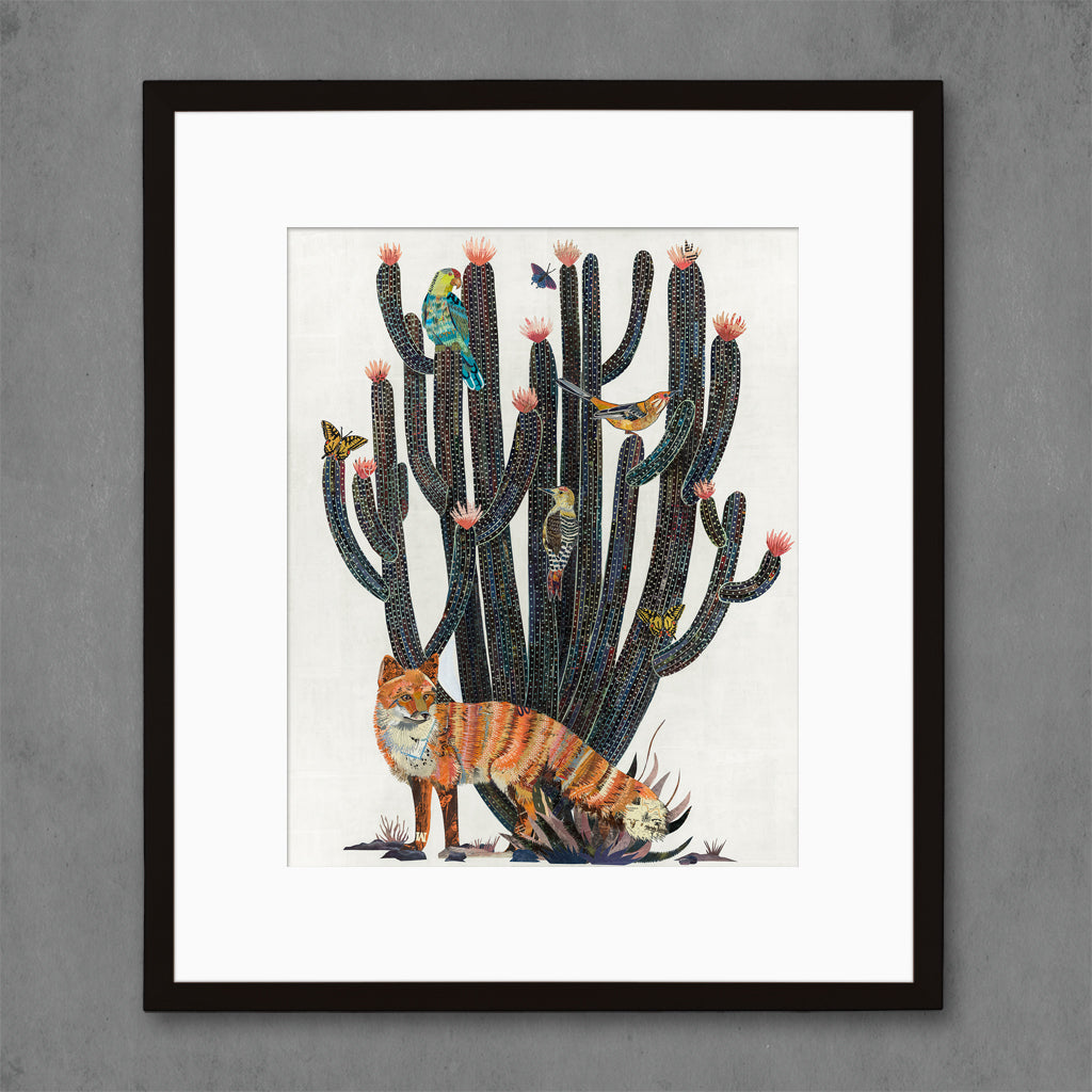 Baja Backcountry Fox Art Print