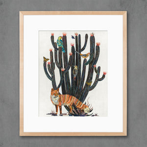 thumbnail for Baja Backcountry Desert Fox Art Print