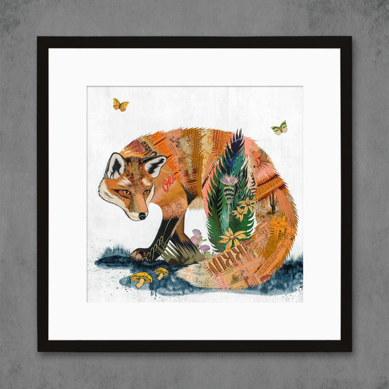main image for Fox and Fern Limited Edition Art Print