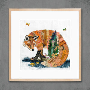 thumbnail for Fox and Fern Limited Edition Art Print