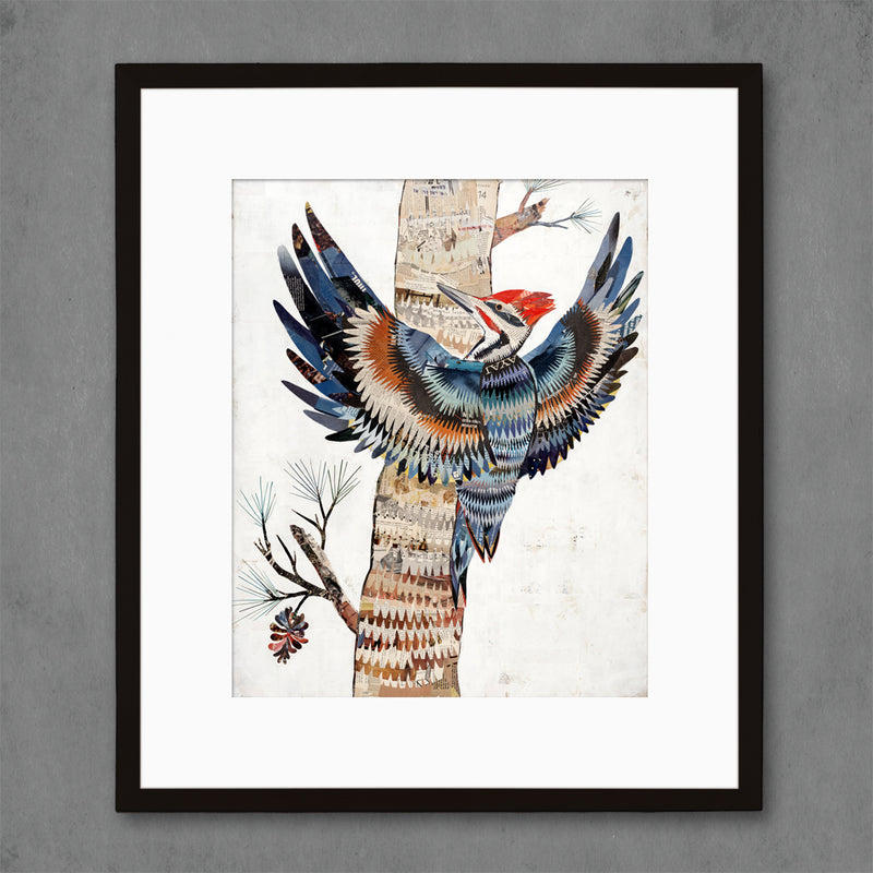 main image for The Great Woodpecker Bird Art Print