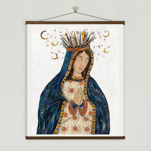 thumbnail for Celestial Queen - Lady of Guadalupe II Art Print