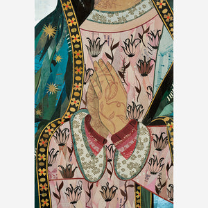 thumbnail for Our Lady of Guadalupe Original Paper Collage Art