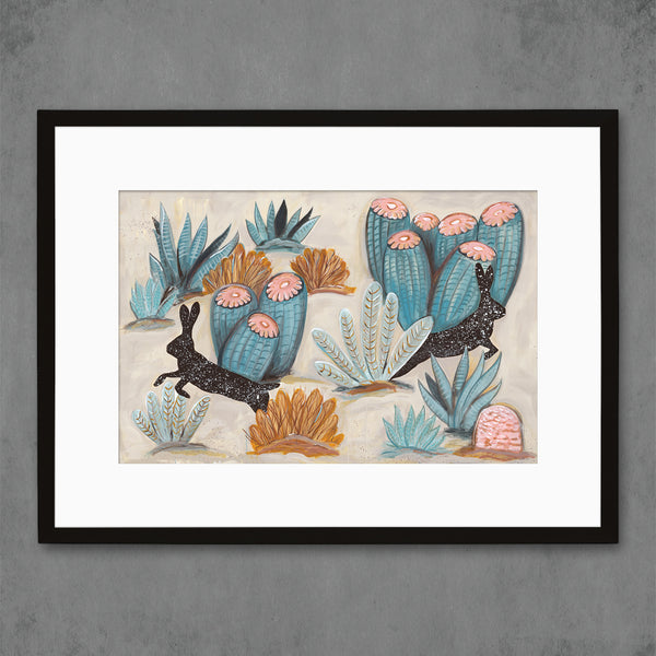 Jackbrush Canyon Art Print