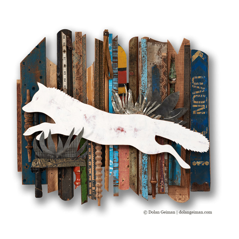 main image for Leaping Fox Rescued Wood Construction