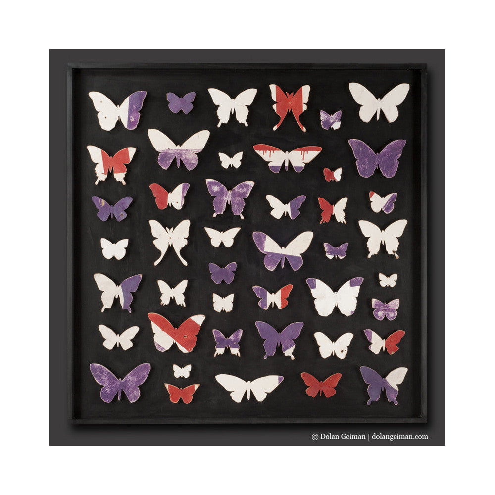 Lepidoptera Butterfly Wood Art