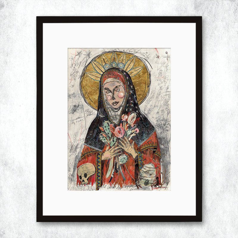 main image for WHSL - Mary of the Fields Art Print