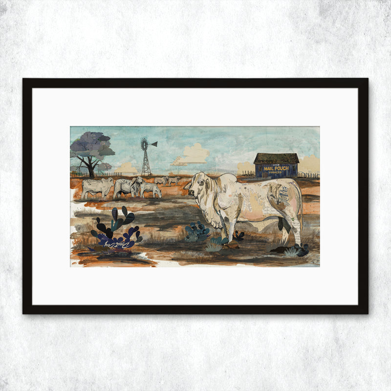 main image for WHSL - Brahman, Mail Pouch Art Print