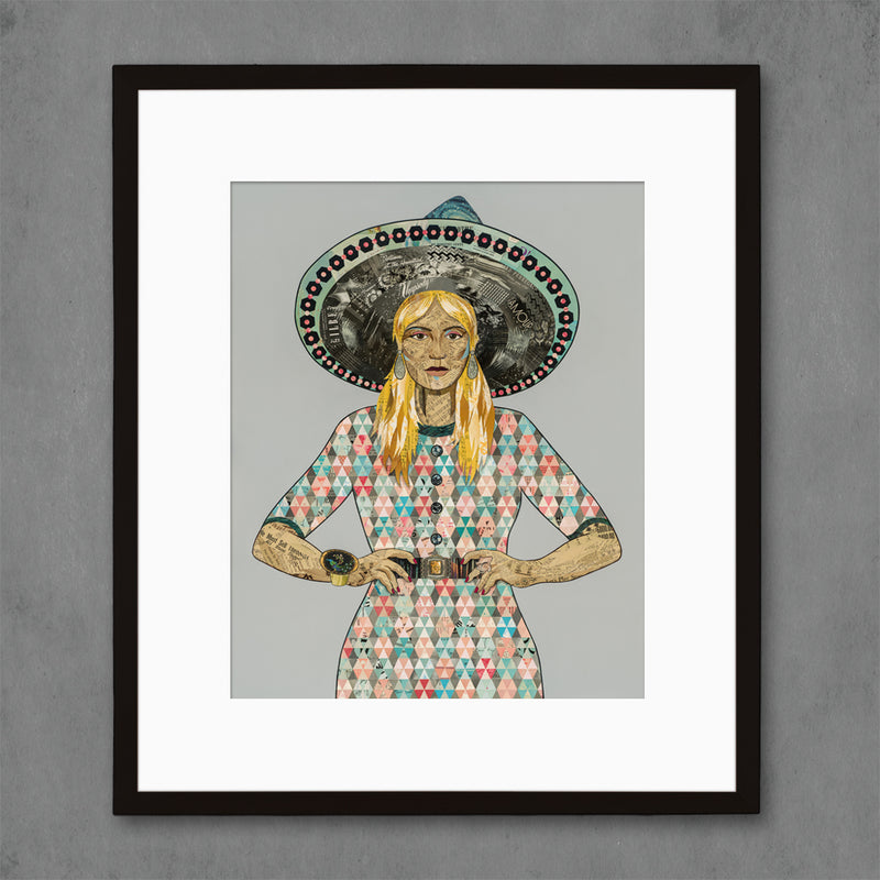 main image for Mama Made II - Quilted Dress Art Print