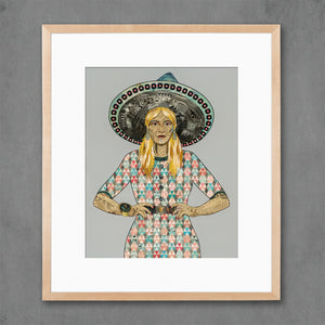 thumbnail for Mama Made II - Quilted Dress Art Print