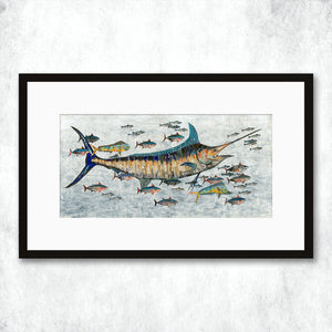 thumbnail for WHSL - Marlin Art Print