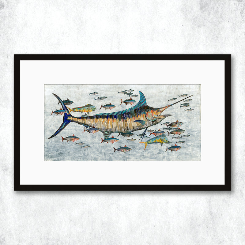 main image for WHSL - Marlin Art Print