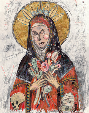 thumbnail for WHSL - Mary of the Fields Art Print