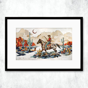 thumbnail for WHSL - Night Scout Art Print