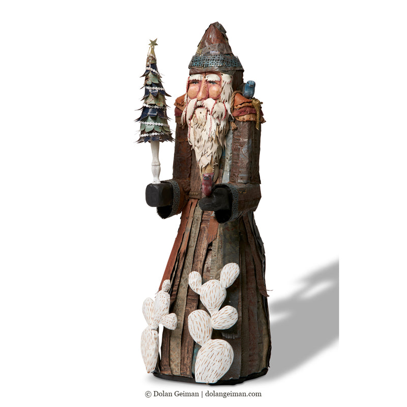 main image for St. Nicholas Santa Claus Original Freestanding Sculpture
