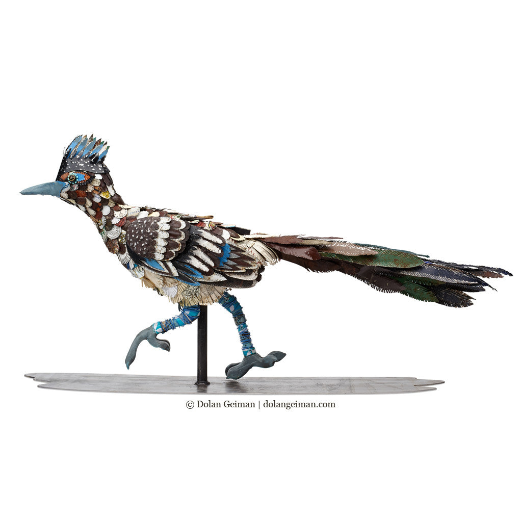 Roadrunner Sculpture