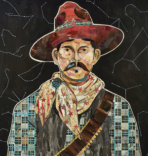 thumbnail for Rustler, Portrait at Midnight Cowboy Art Collage