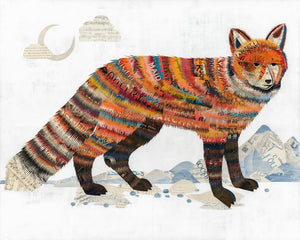 thumbnail for WHSL - Salt Flats Fox Art Print